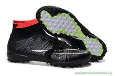 ac1adf03b Newest Mens IC Black NIKE ELASTICO Superfly Messi Football Boots