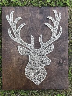 Deer/Buck String Art