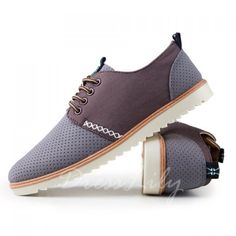 Fashion Carving and Lace-Up Design Casual Shoes For Men found on dresslily.com