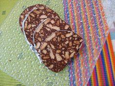 As Minhas Receitas: Salame de Chocolate
