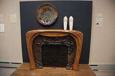 This Art Nouveau fireplace by Hector Guimard is in the Toledo Museum of Art in Toledo, OH.
