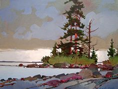 Canadian artist Robert Genn, Langara Light