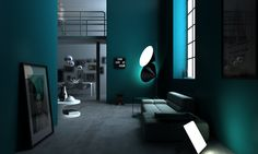 #scenario interiørarkitekter MNIL , #3D - Norway Bathroom Lighting, 3 D, 3d Illustrations, Mirror, Norway, Furniture, Design, Home Decor, Lattices