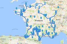 Todos los pueblos que aparecen en el mapa fueron seleccionados para integrar el listado por la Asociación de los Pueblos más bonitos de España. Para ser parte de esta asociación, que tiene como fin difundir el encanto patrimonial y cultural de los rincones urbanos más tranquilos y bonitos de España, los núcleos urbanos deben cumplir …