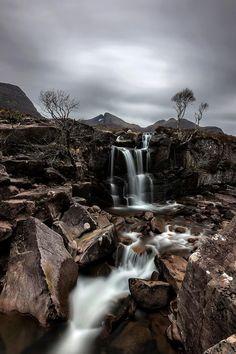 The Falls at Beinn Alligin, Scotland