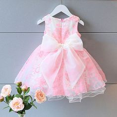 Girls' Clothing (Sizes 4 & Up) Kids Toddler Baby Girl Princess Tutu Dresses Tulle Party Wedding Prom Ball Gown Princess Tutu Dresses, Pink Tutu Dress, Tulle Tutu, Sparkle Outfit, Sparkle Clothes, Korean Fashion Street Casual, Baby Girl Princess, Pink Princess, Princess Party