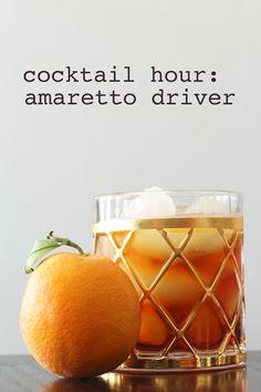 Cocktail Hour // Amaretto Driver