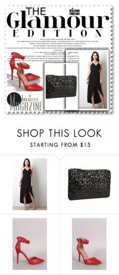 """""""Glamour Edition - LBD Long Black Dress"""" by the-walking-threads on Polyvore"""