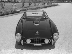 1956-1959 Ferrari 410 Superamerica In 1955 at the Paris Auto Show Ferrari unveiled the 410 Superamerica as a naked chassis, followed by the complete car at the Brussels Salon early in 1956. Ferrari built three different 410 SuperAmerica Series. http://www.topspeed.com/cars/ferrari/1956-1959-ferrari-410-superamerica-ar78871.html