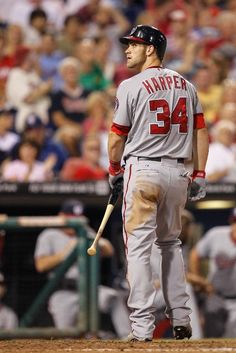 Bryce Harper. he is cocky and has a pretty bad attitude but i definitely wouldn't mind getting his autograph this friday at the braves game