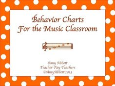 Behavior and Classroom Posters for the Music Classroom-Polka Dot. I will use some of her ideas and alter them slightly for middle school band.