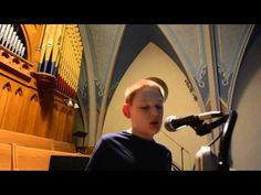 Christopher Duffley Sings The Ave Maria. born blind & autistic due to drug addiction by the woman the birthed him