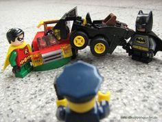 mighty, micro and crashed #batman #robin
