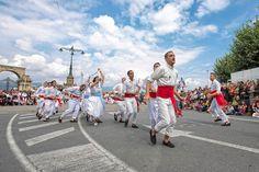 Danza das Espadas en Marín, Pontevedra.