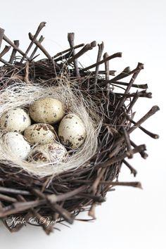 seidenfein 's Dekoblog: schlicht und schön * unpretentious nest