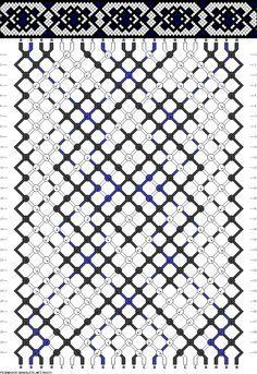 DIY - Friendship Bracelet Pattern