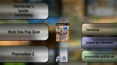 Gameplay : Buzz Das Pop Quiz [Playstation 2]