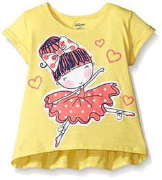 Gerber Graduates Girls Short Sleeve Swing Top with Back R... http://a.co/gThSyu3