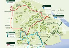 map of new forest tour