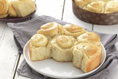 Buttery Sourdough Buns: King Arthur Flour's blog - The dough makes delicious cinnamon rolls too.