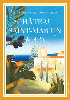 VO | Valérie Oualid : Agent d'illustrateurs | Léa Morichon | Palaces Oetker French Riviera, Palaces, Illustration, Artist, Books, Movies, Movie Posters, Libros, Palace