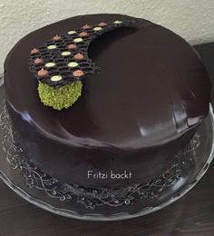 Pistazien-Schokoladen-Torte