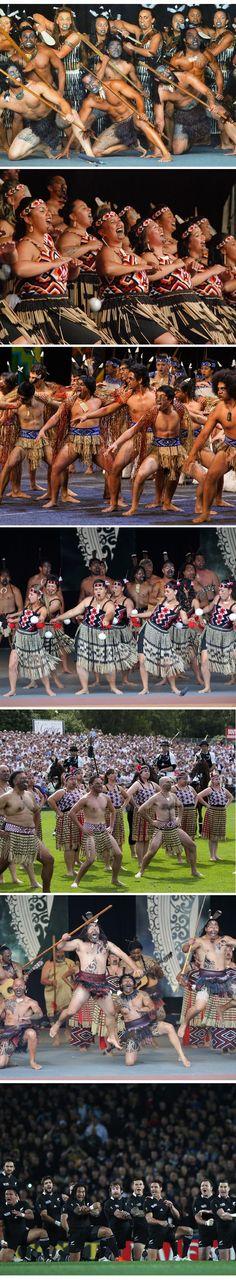 The Haka - Maori - Aotearoa - Warrior dance from New Zealand  I WANNA GO BACK!!