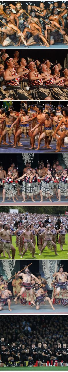 The Haka - Maori - Aotearoa - Warrior dance from New Zealand