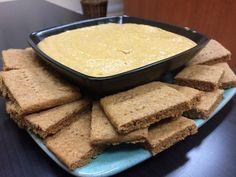 Graham Crackers & Vegan Pumpkin Cheesecake Dip - Celiac Disease Foundation