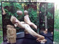 Sculpture in five dimensions by Manuel Marod