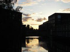 Tammerkoski at sunset
