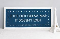 If it's not on my map, it doesn't exist!