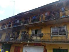 2-Storey Building Catches Fire In Port Harcourt (Photos) - http://www.77evenbusiness.com/2-storey-building-catches-fire-in-port-harcourt-photos/