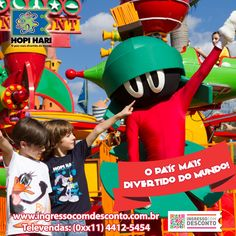 Hopi Hari é um parque completo, com muitas atrações e diversão garantida para toda a família. APROVEITE ESSA SUPER PROMOÇÃO! Gostou? Então vem curtir! Compre agora: www.ingressocomdesconto.com.br Televendas: (0xx11) 4412-5454