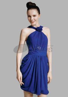 Short Prom Dresses / Chiffon Sheath/Column Straps Short/Mini Short Prom Dresses / http://www.thdress.com/Chiffon-Sheath-Column-Straps-Short-Mini-Short-Prom-Dresses-p867.html