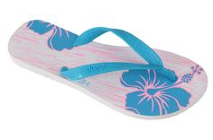 Modelo Floral blanco#dupeeu  #sandals #flipflops #floral #flowers #brazilian #stylish #summer #beach