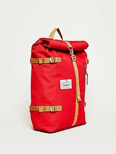 Poler The Roll Top Backpack