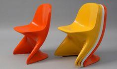 Alexander Begge, chaises pour enfants Casa Lino, 1971