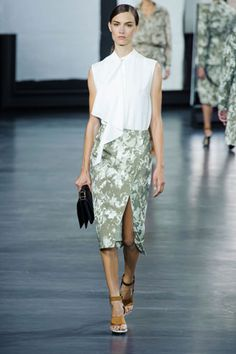 Jason Wu SS15   Runway   Perfect for the office.