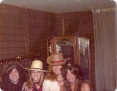 Robert, Jimmy and two lucky ladies.