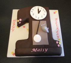 cute+clock+cakes+for+kids+birthday | HICKORY DICKORY DOCK
