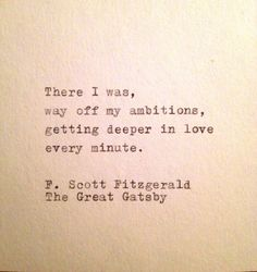 One of the greatest authors of our time. Scott Fitzgerald