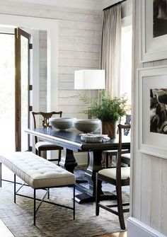 Entrance Space by Robert Brown Interior Design