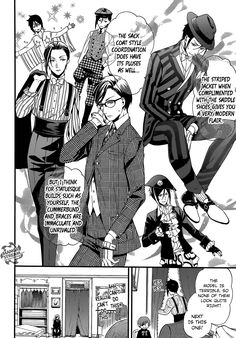 Read manga Kuroshitsuji 116 - That Butler, Apparelling online in high quality