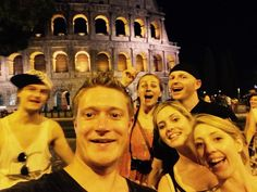 One night in #Rome #selfie