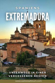 Römische Ruinen, mittelalterliche Städte und eine wunderschöne Landschaft: Das ist die Extremadura. Wenn du auf der Suche nach dem perfekten Ziel für einen Roadtrip bist, solltest du dir die dünn besiedelte Region im Südwesten von Spanien ansehen. #spanien #roadtrip