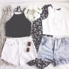 Clothes Casual Outfit White and Black