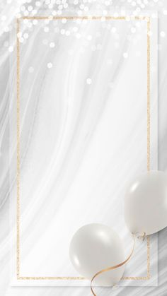 Handy Wallpaper, Phone Wallpaper Design, Framed Wallpaper, Flower Backgrounds, Wallpaper Backgrounds, Happy Birthday Wallpaper, Birthday Background Wallpaper, Balloon Frame, Balloon Illustration