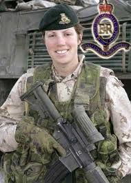 Captain Nicola Goddard, KIA Afghanistan, was the first Canadian female soldier killed since WWII.