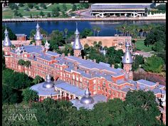 8) This is the University of Tampa. Where Kimberley went to college.